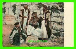 ALEXANDRIA, EGYPTE - GROUPE DE BÉDOUINS - DOS 3/4 - - Alexandrie