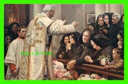 PEINTURES - HENRY JACQUET, SALON DE PARIS - BÉNÉDICTION DE FLEURS EN FLANDRE -  NEURDEIN & CIE - - Peintures & Tableaux