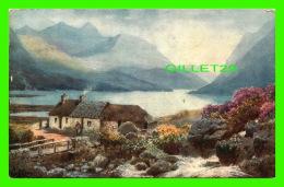 PEINTURES - GLEN ETIVE, IN THE WESTERN HIGHLANDS - RAPHAEL TUCK & SONS, OILETTE - - Peintures & Tableaux
