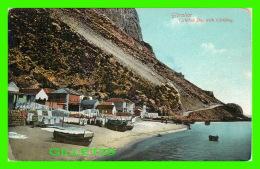 GIBRALTAR - CATALAN BAY WITH CLOTHING - A. BENZAQUEN - - Gibraltar