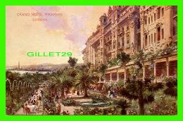 GENOVA, ROMA - GRAND HOTEL MIRAMARE -  WRITTEN - - Cafés, Hôtels & Restaurants