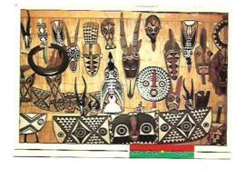 PROVINCE DE MOUHOUN LES MASQUES DECORATIFS BOUABA - Burkina Faso