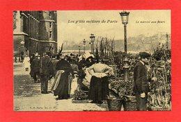 U25//  75 PARIS - Le Marché Aux Fleurs  / Rééd CECODI Lire Description Neuve - Straßenhandel Und Kleingewerbe