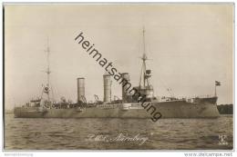 S.M.S. Nürnberg - Foto-AK - Guerre
