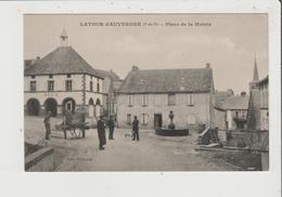 CPA - LATOUR D'AUVERGNE - Place De La Mairie - France