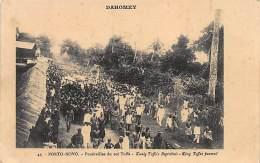 Dahomey - PORTO-NOVO - Funérailles Du Roi Toffa. - Benin