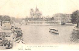(75) Paris - Paris - La Seine Vers Notre-Dame - El Sena Y Sus Bordes