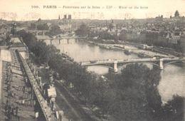 (75) Paris - Paris - Panorama Sur La Seine - El Sena Y Sus Bordes