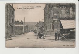 CPA - AMBERT - Avenue 11 Onze Novembre - Voiture Ancienne - Ambert
