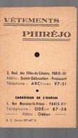 Paris Rue Monsieur Le Prince  : VETEMENTS PHIREJO  (PPP14648) - Advertising