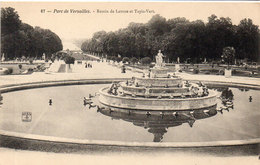 Parc De VERSAILLES - Bassin De Latone Et Tapis Vert (109474) - Versailles (Château)