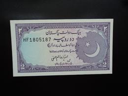 PAKISTAN : 2 RUPEES  ND 1985 -1999   P 37  Signature 11   NEUF - Pakistan