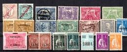 Portugal Belle Petite Collection D'anciens  1892/1930. Bonnes Valeurs. B/TB. A Saisir! - Sammlungen