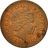 Monnaie, Grande-Bretagne, Elizabeth II, Penny, 2007, TTB, Copper Plated Steel - 1971-… : Monnaies Décimales