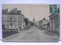 72 - NOYEN - LA CROIX BLANCHE - ANIMEE - France