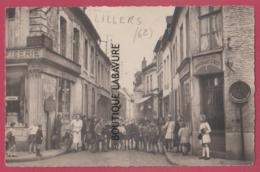 62 - LILLERS---Rue De L'Eglise--tres Animé----cpsm Pf - Lillers