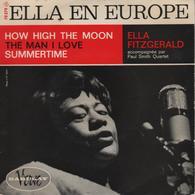 Disque 45 Tours ELLA FITZGERALD Accompagnée Par PAUL SMITH QUARTET - Jazz
