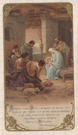 8AK2513 Image Religieuse Pieuse ADORATION DES BERGERS BOUASSE JEUNE - Devotion Images