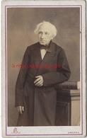 CDV Homme âgé Photo L Et F Caron Rue Des 3 Cailloux AMIENS - Fotos
