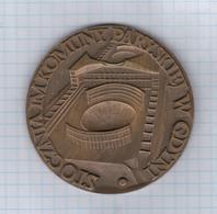 Poland Polska 1976 Stocznia Im. Komuny Paryskiej W Gdyni, Drugi Suchy Dok, Gdynia, Medal Medaille, 7 Cm - Other