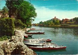 Torino (Piemonte) Imbarcadero E Barche Sul Fiume Po, - Education, Schools And Universities