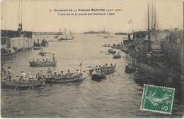 Saint-nazaire - Souvenir De La Semaine Maritime éditeur Vasselier - Arrivee Course Marins De L'état - Saint Nazaire