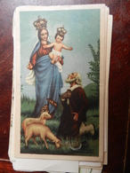 18249) GENOVA MADONNA DELLA GUARDIA ORAZIONE PREGHIERA - Santini