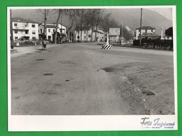 Piovene Rocchette Sacrario Militare Vicenza Foto Originale Anni '50 Cartello Lavori Strada Del Summano - Lieux