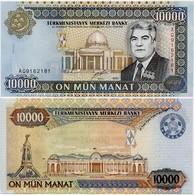 TURKMENISTAN       10,000 Manat       P-14       2000       UNC  [ 10000 ] - Turkmenistan