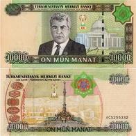 TURKMENISTAN       10,000 Manat       P-16       2005       UNC  [ 10000 ] - Turkmenistan
