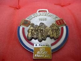 Médaille De Sport/Cyclisme/ EURAUDAX/ 100 KM/ Limousin/ Les Audax Français/1986    SPO283 - Cyclisme