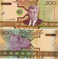 TURKMENISTAN       500 Manat       P-19       2005       UNC - Turkmenistan