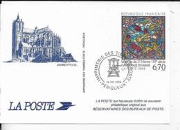 SOUVENIR PHILATELIQUE .-1994 André OTTO Sc . Légende De St-Etienne - Documents De La Poste