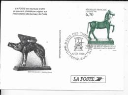 SOUVENIR PHILATELIQUE .-1996 .-  TRESOR DE NEUVY-EN-SULLIAS - Documents De La Poste