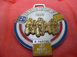 Médaille De Sport/Cyclisme/ EURAUDAX/ 200 KM/ BRIVE/ Les Audax Français/1986    SPO284 - Cyclisme