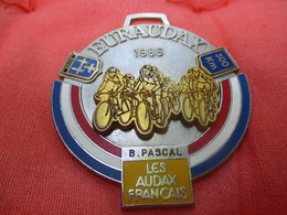 Médaille De Sport/Cyclisme/ EURAUDAX/ 300 KM/ BRIVE/ Les Audax Français/1986    SPO285 - Cyclisme