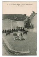 22342  CPA    SAMPIGNY : Place De Mulhouse ; Le Monument !! ACHAT DIRECT ! - Autres Communes