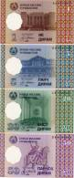 TAJIKISTAN     Set / Serie 1-5-20-50 Diram     P-10→13     1999     UNC - Tajikistan