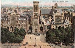 PARIS - Eglise Saint Germain L' Auxerrois Et Mairie Du 2° Arrondissement    (109500) - Unclassified