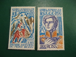 TAAF YVERT POSTE ORDINAIRE N° 61/62 - TIMBRES NEUFS** LUXE - MNH - SERIE COMPLETE - COTE 14,00 EUROS - Neufs