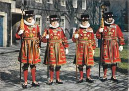 Yeoman Warders At The Tower Of London - London