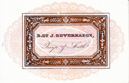 Oudenaarde Audenarde Porseleinkaart Carte Porcelaine,  D. Et J. Bevernaege, Imp. & Lith. - Oudenaarde
