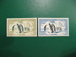 TAAF YVERT POSTE AERIENNE N° 2/3 - TIMBRES NEUFS** LUXE - MNH - SERIE COMPLETE - COTE 108,00 EUROS - Terres Australes Et Antarctiques Françaises (TAAF)