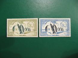 TAAF YVERT POSTE AERIENNE N° 2/3 - TIMBRES NEUFS** LUXE - MNH - SERIE COMPLETE - COTE 108,00 EUROS - Französische Süd- Und Antarktisgebiete (TAAF)