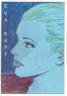 FDK 057 Eva Kant Disegno Giorgio Montorio - EMA - Veronafil Specimen Diabolik Eva Kant 1/3 - Fumetti