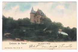 CPA Dos Non Divisé : NAMUR Villa Bolart  ( En Fait, Villa Balart Ou Douxchamps )  Rue De Balart - Namur