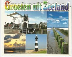 8Eb-548:  Groeten Uit Zeeland - Vuurtoren... - Netherlands