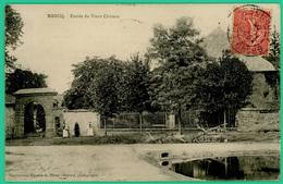 Marcq - Entrée Du Vieux Château - Animé - - Attigny