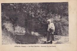 CIVAUX - La Font Chrétien - Souvenir Du Roi Clovis - Francia