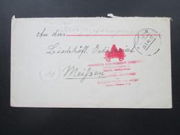 All. Besetzung Kriegsgefangenenpost Roter Stempel Päpstliches Hilfswerk. Kath Caritasverband. MIssione Vaticana Mittenwa - Zone Anglo-Américaine